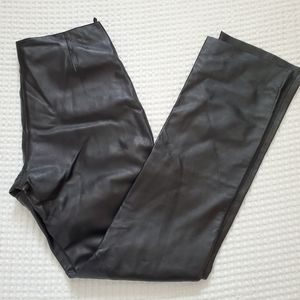 Wilson Black Leather Pants size 2